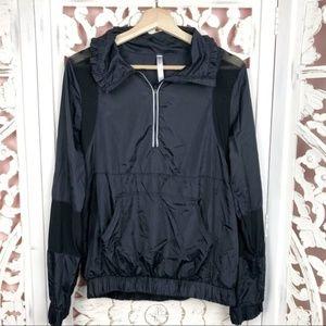 Fabletics Black Lightweight Ziva Jacket